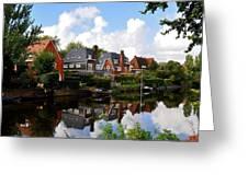 Noorder Amstelkanaal Amsterdam Greeting Card