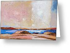 Nordic Seascape Greeting Card