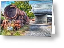Norfolk And Western Class M2c  No 1151 Greeting Card