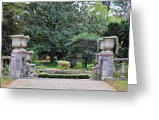 Norfolk Botanical Gardens 7 Greeting Card