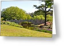 Norfolk Botanical Gardens In Color Greeting Card