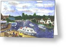 Norfolk Broads Greeting Card