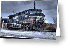 Norfolk Southern #8960 Engine II Greeting Card