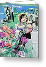 Norma Shearer Greeting Card