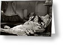 Norma Talmadge In Camille 1926 Greeting Card