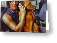 Norman And Charlie  Greeting Card