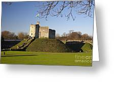 Norman Keep Cardiff Castle Greeting Card