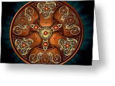 Norse Chieftain's Shield Greeting Card