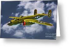 North American B-25j Greeting Card