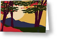 North American Landscape Greeting Card