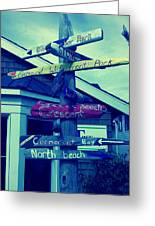 North Beach Greeting Card