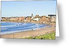 North Berwick Greeting Card by Tom Gowanlock