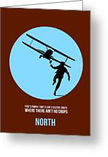 North By Northwest Poster 2 Greeting Card