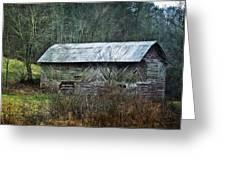 North Carolina Country Barn Greeting Card