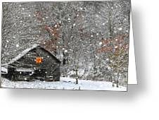 North Carolina Quilt Barn Greeting Card