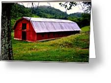 North Carolina Red Barn Greeting Card