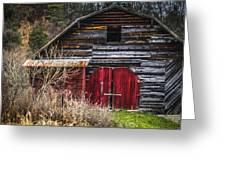 North Carolina Red Door Barn Greeting Card
