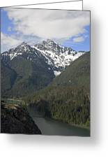 North Cascades Landscape Greeting Card