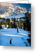 North Cascades Winter Greeting Card