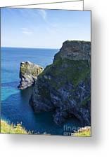 Photographs Of Cornwall North Coast  Cornwall Greeting Card