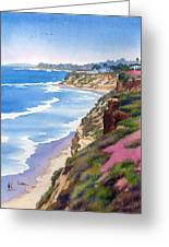 North County Coastline Revisited Greeting Card