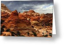 North Coyote Buttes Arizona Greeting Card