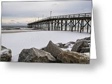 North End Pier Greeting Card