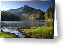 North Face Of Jughandle Mountain Greeting Card