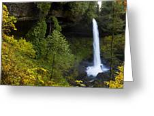 North Falls Panorama Greeting Card