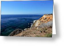 North From Palos Verdes Greeting Card