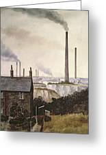 North Kent Landscape  Nr Northfleet Gravesend Greeting Card