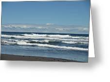 North Kona Coastline 3 Greeting Card