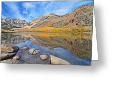 North Lake Reflections Greeting Card