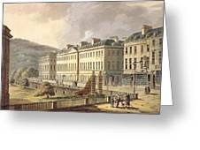 North Parade, From Bath Illustrated Greeting Card