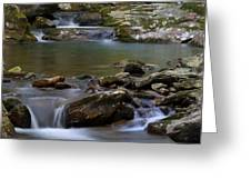 North Prong Of Flat Fork Creek Greeting Card