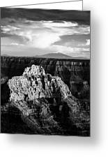 North Rim Greeting Card by Dave Bowman