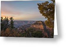 North Rim Sunrise 1 - Grand Canyon National Park - Arizona Greeting Card