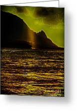 North Shore Kauai Greeting Card