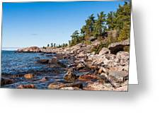 North Shore Of Lake Superior Greeting Card