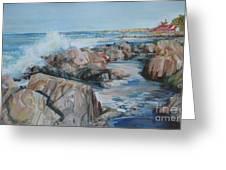North Shore Surf Greeting Card