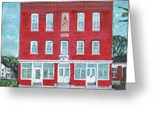 North Star Lodge Greeting Card