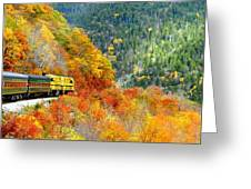 North To Crawford Notch Greeting Card