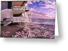 North Topsail Beach Tides That Tell Greeting Card