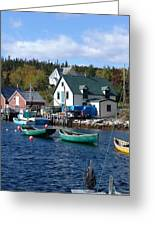 North-west Cove Greeting Card