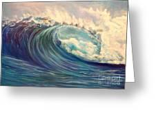 North Whore Wave Greeting Card
