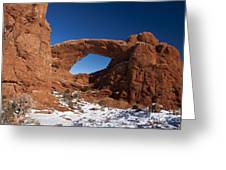North Window Arches National Park Utah Greeting Card
