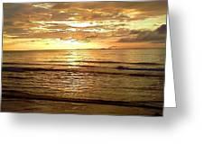 Northern Ireland Sunset Greeting Card