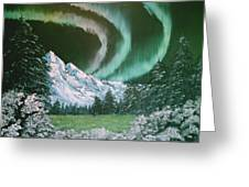 Northern Lights - Alaska Greeting Card