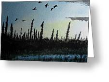 Northern Limit Greeting Card