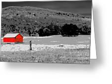 Northern Michigan Farm Sc Greeting Card